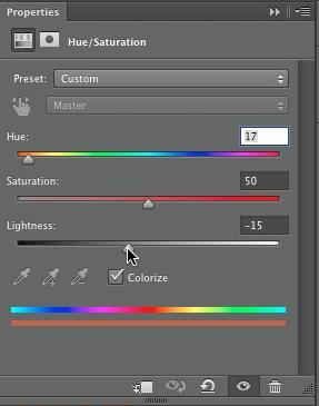 Adjust color again