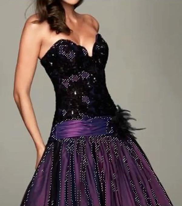 Dress selected