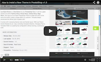 Installing a New Theme in PrestaShop 1.5.x