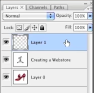 Logo in layer window
