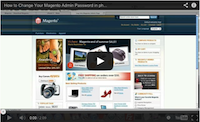 Magento Change Password Video