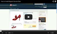 Magento Sample Data Video