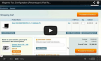 Magento Tax Configuration Video