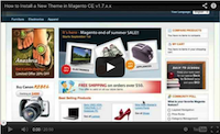 Install a New Theme in Magento Video