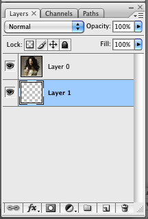 New empty layer