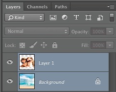 Both layers selected