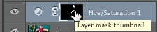 Click layer mask