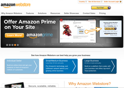 Amazon Webstore screenshot