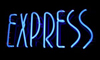 express illuminated sign