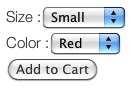 WordPress Ultra Simple Paypal Shopping Cart button output