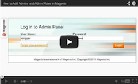 Add Admins and Admin Roles Video