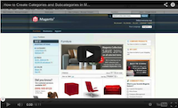 Magento Categories and Subcategories Video