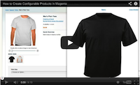 Magento Configurable Product Video