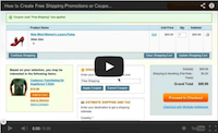 Free Shipping Promotions and Coupons Video