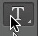 Horizontal type tool icon