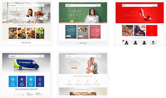 Premium BeTheme Responsive Business Themes Screenshot 3