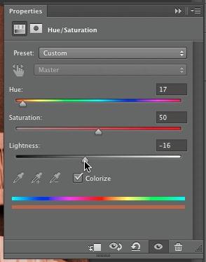 Adjust color