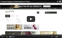 Creating Categories and Subcategories in PrestaShop 1.6.x