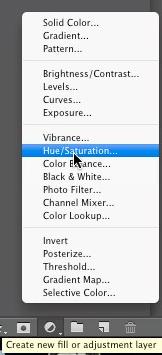Hue/Saturation