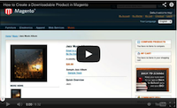 Magento Downloadable Product Video