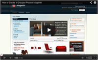 Magento Grouped Product Video