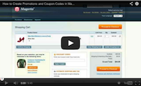 Setup Promotions and Coupon Codes Video