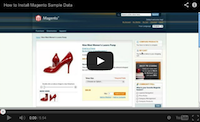 Magento Sample Data Video