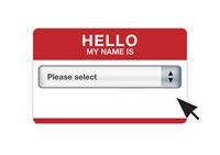 Select a name