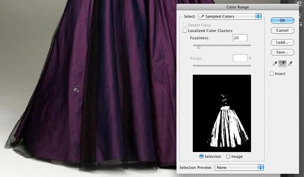Select the dress