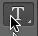 Horizontal type tool icon