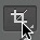 Crop tool icon
