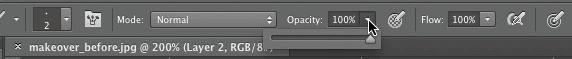 Set opacity