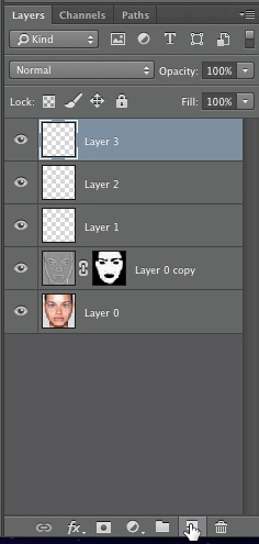Create new layer